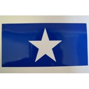 ADHESIVO BANDERA BONNIE BLUE