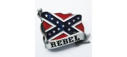 HEBILLA REBEL FLAG
