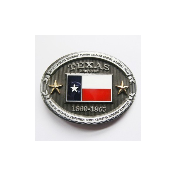 Texas lone star state belt buckle southern style shop