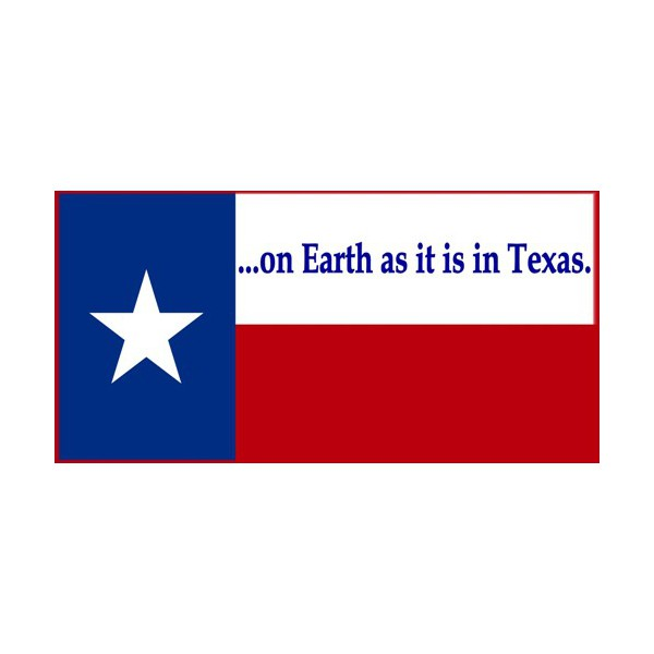 Texas Bumper Sticker Southern Style Shop