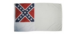 BANDERIN 2ND CONFEDERATE FLAG