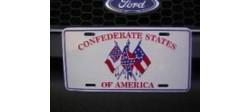PLAQUE CONFEDERATE STATES